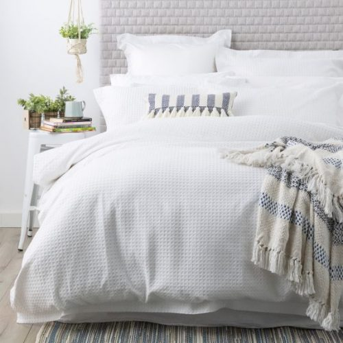 COTTON WAFFLE QUILT COVER.jpgWHITE